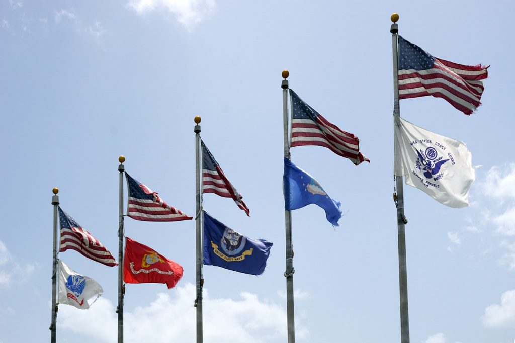 usa, flag, banner